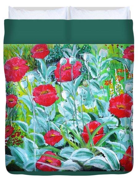 Poppy Impression Duvet Cover