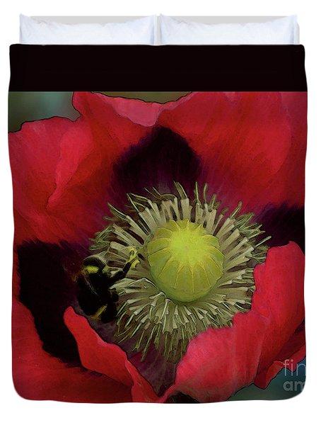 Poppy Love Duvet Cover