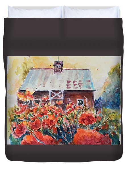 Poppy Morning Duvet Cover