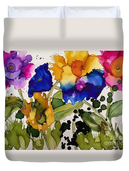 Poppy Party Duvet Cover