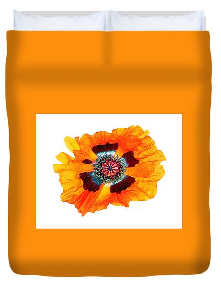 Poppy Pleasing Duvet Cover