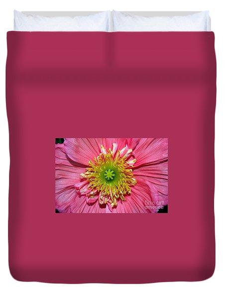 Duvet Cover featuring the photograph Poppy by Vivian Krug Cotton