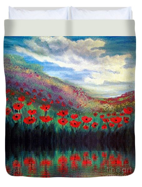 Poppy Wonderland Duvet Cover