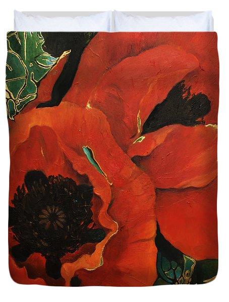 Poppygold Duvet Cover