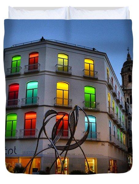 Por Las Calles Del Centro Historico De Duvet Cover