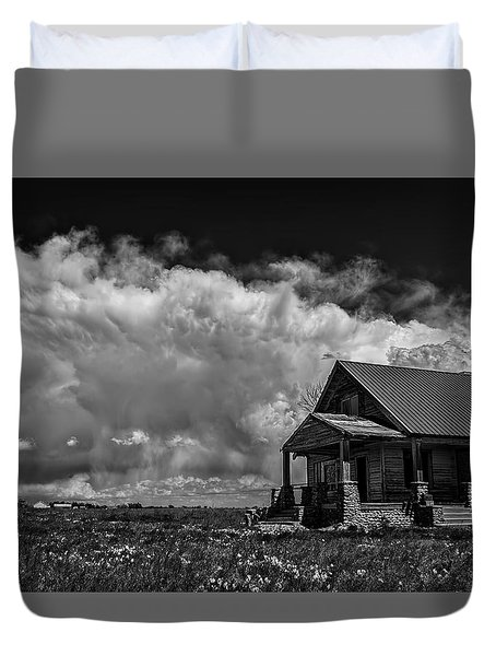 Porch View Duvet Cover