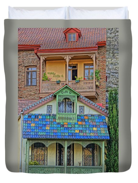 Porches Duvet Cover