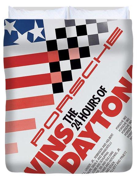 Porsche 24 Hours Of Daytona Wins Duvet Cover