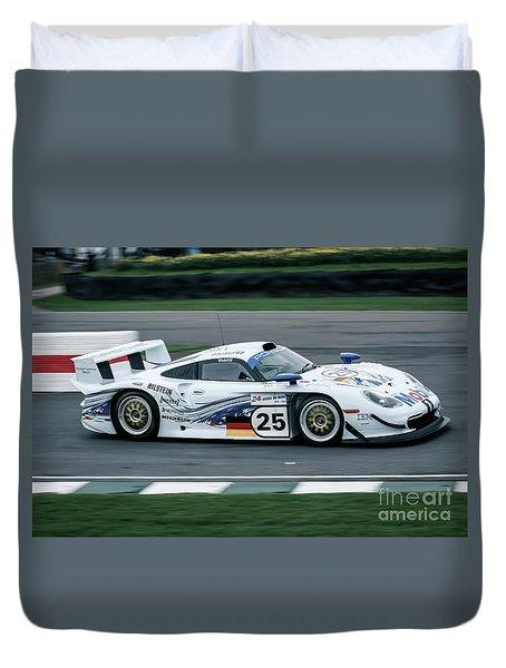 Porsche 911 Gt1 Strassenversion Duvet Cover