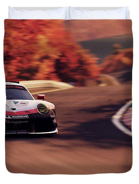Porsche 911 Rsr, Nordschleife - 41 Duvet Cover