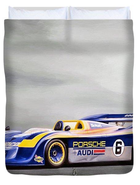 Porsche 917 Can-am Duvet Cover