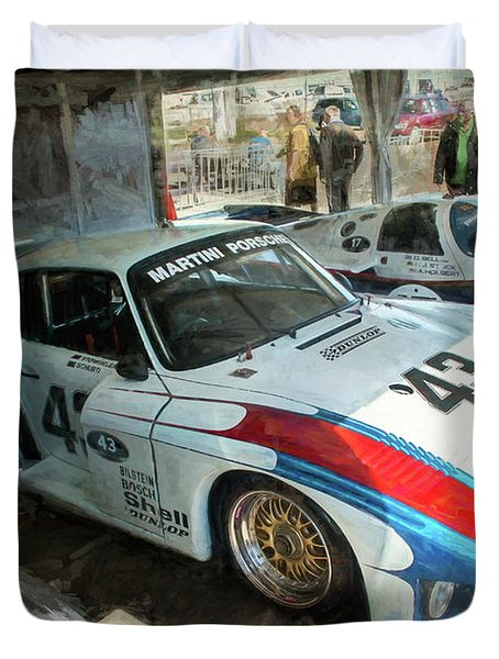 Porsche 935 Moby Dick Duvet Cover