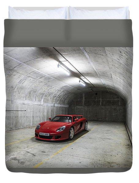 Porsche Carrera Gt Duvet Cover