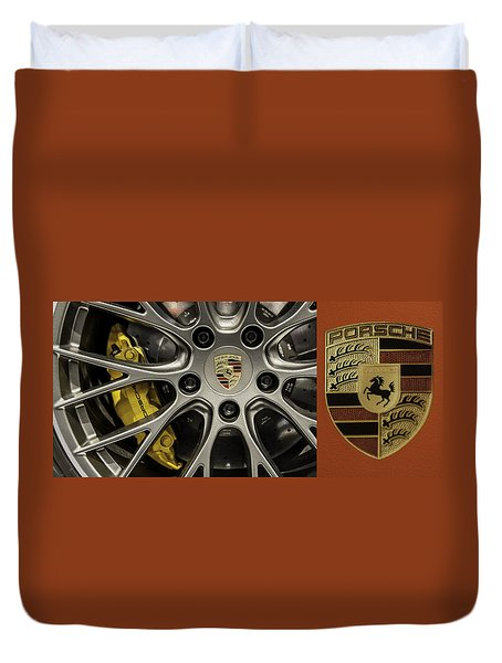 Porsche Duvet Cover by Don Mennig