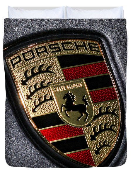 Porsche Duvet Cover by Gordon Dean II