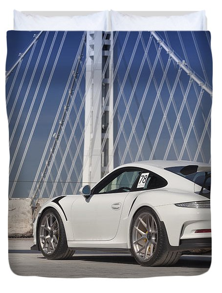 Porsche Gt3rs Duvet Cover
