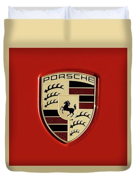 Porsche Power Red 111216 Duvet Cover