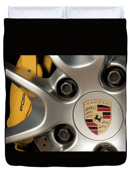 Porsche Wheel Detail #2 Duvet Cover