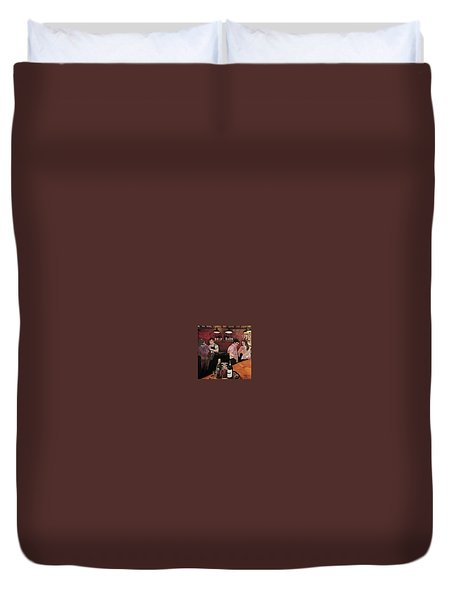 Port Bar Duvet Cover