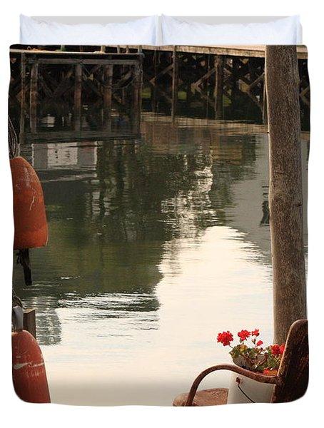Port Clyde Life Duvet Cover