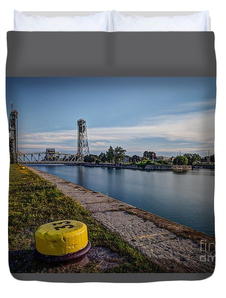 Port Colborne Duvet Cover