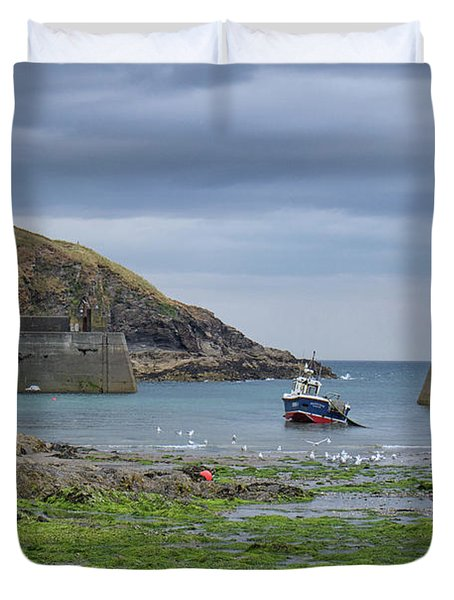 Port Issac Duvet Cover