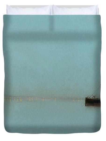 Port Light Duvet Cover