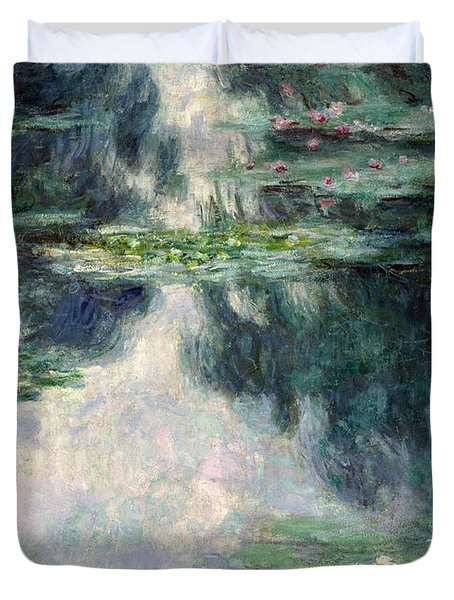 Port-pond With Water Lilies-1907 Duvet Cover
