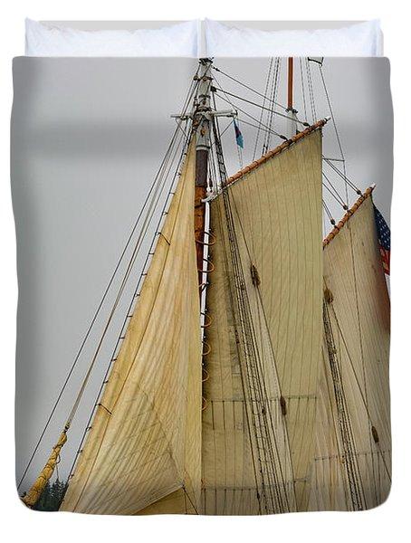 Port Side Duvet Cover