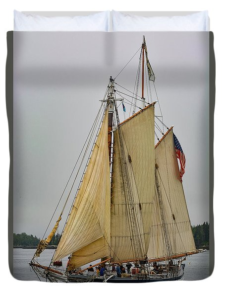 Port Side Duvet Cover