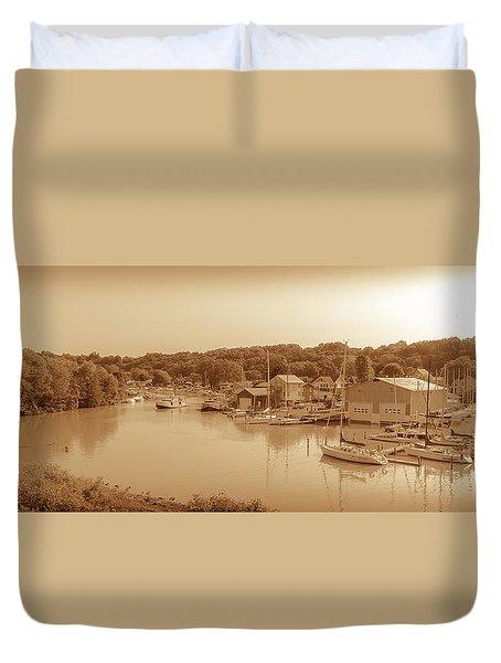 Port Stanley Waterway Duvet Cover