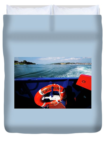 Portaferry Ferry Duvet Cover