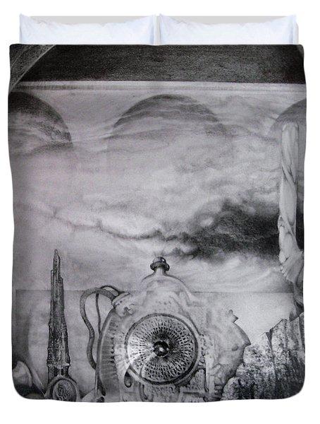 Portal To Bogomils Universe Iv Duvet Cover