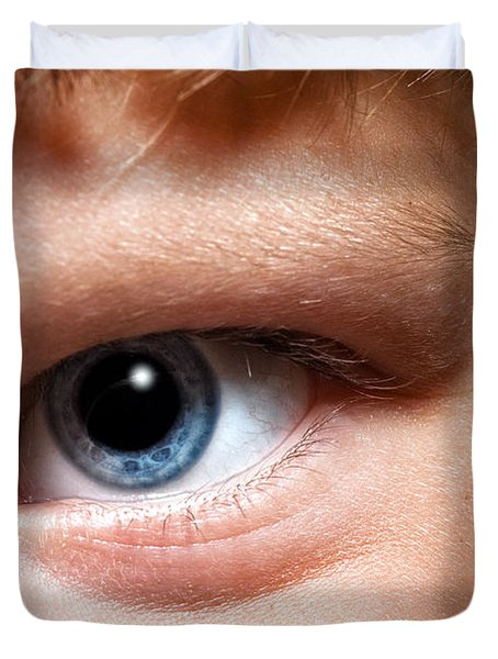 Portal To The Soul Duvet Cover by Christopher Holmes