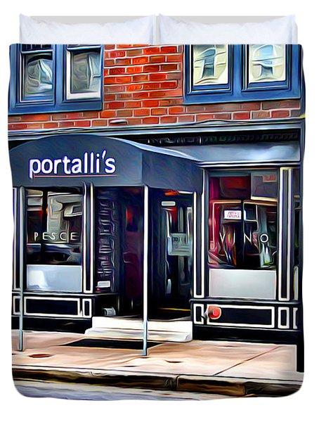 Portalli's Duvet Cover