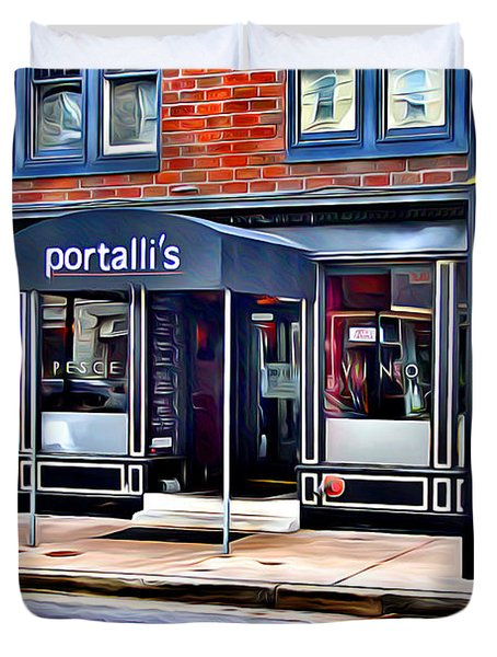 Portalli's Duvet Cover by Stephen Younts