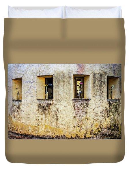 Portals Duvet Cover