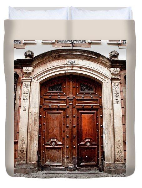Porte 103 Duvet Cover