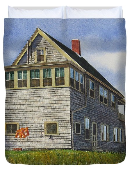 Porter House Duvet Cover