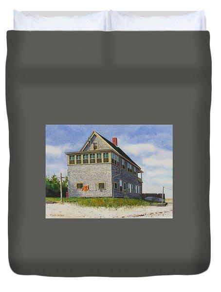 Porter House Duvet Cover