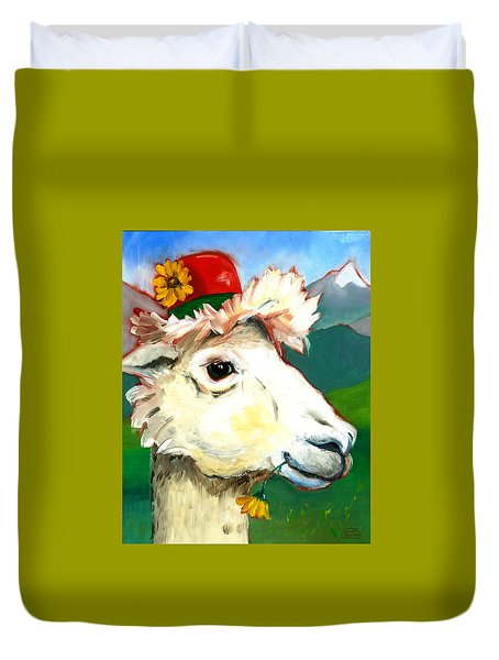 Portland Alpaca Duvet Cover