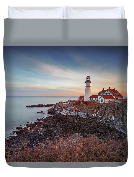 Portland Headlight Duvet Cover
