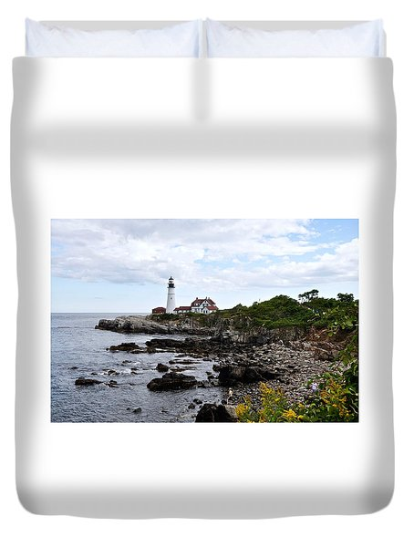 Portland Headlight II Duvet Cover