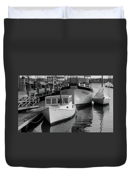 Duvet Cover featuring the photograph Portland, Maine  by Trace Kittrell
