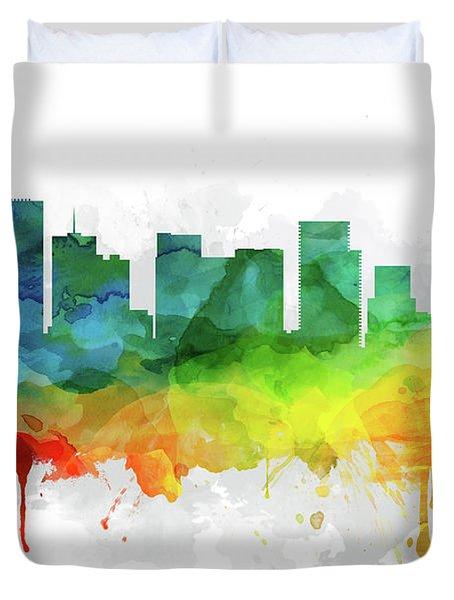 Portland Skyline Mmr-usorpo05 Duvet Cover