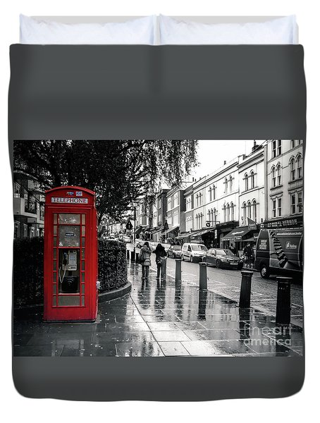 Portobello Road London Duvet Cover