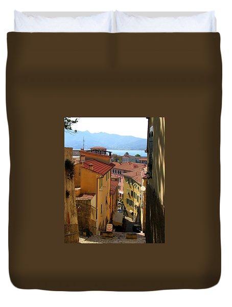 Portoferraio Elba Duvet Cover