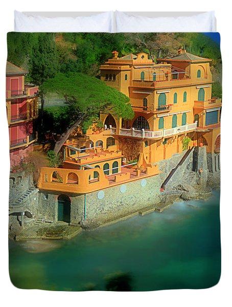 Portofino Park Bay Duvet Cover