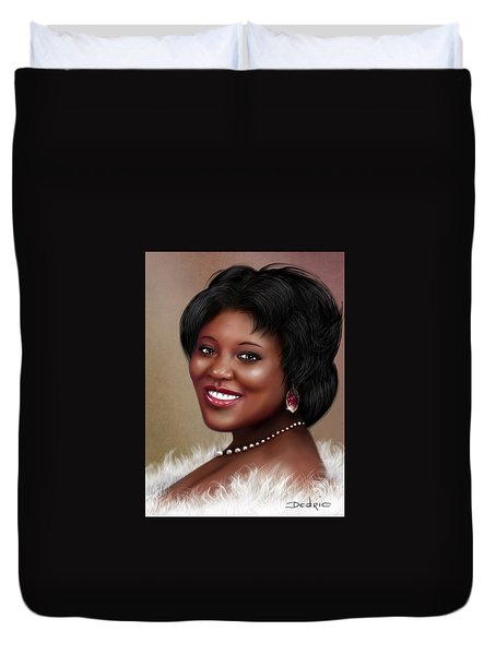 Portrait Commision  Duvet Cover