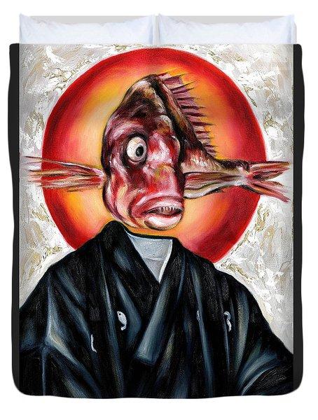 Portrait Duvet Cover by Hiroko Sakai